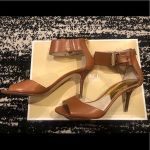 Michael Kors Guiliana Mid Open Toe Sandals